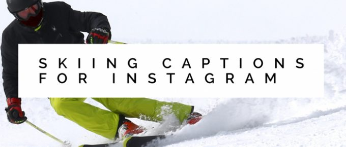 Coolest Skiing Captions for Instagram